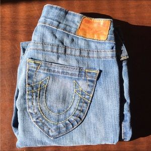 """Women's True Religion Low Rise Jeans Sz 27x29""""L"""
